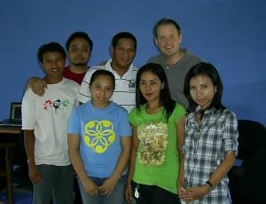 visitors from Bali, fellow social entrepreneurs